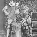 Paggio e nano alla mascherata del principe di Corcumello