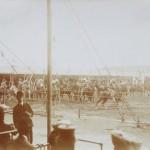 Torneo della compagnia di Buffalo Bill in piazza d'Armi