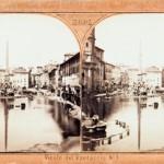 Piazza Navona con il lago estivo