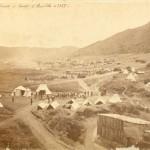 Accampamento dell'esercito pontificio ai Campi d'Annibale presso Monte Cavo