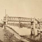 Inaugurazione del Ponte ferroviario in ferro di San Paolo alla presenza di Pio IX
