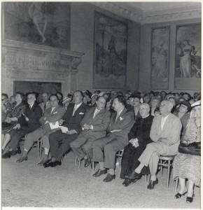 Pubblico all'inaugurazione