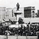 Inaugurazione del monumento a Camillo Benso conte di Cavour
